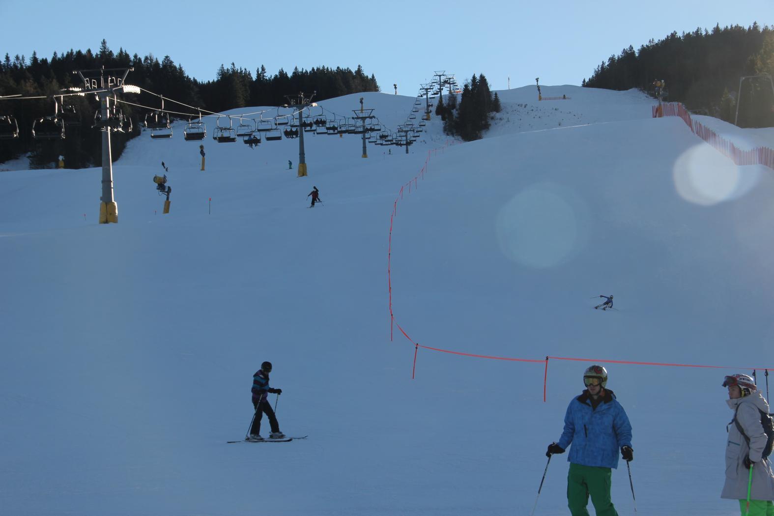 Skitour im Dammkar bei Mittenwald